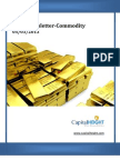 Daily Commodity Newsletter 05-03-2013