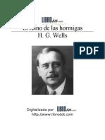 Wells, Herbert George - Reino de Las Hormigas, El