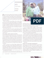 Sweet Grass Dairy Article by Pattie Baker
