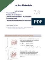 0Esforcos combinados - Transformacao tensoes - Circulo Mohr - PT.pdf