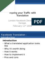 Facebook Translation Presentation 11-02-2009