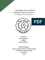 Pengaruh Media Iklan Terhadap Perubahan Sosial Masyarakat