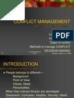 Conflict 1
