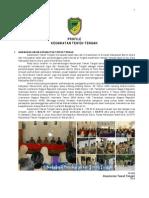 Profil Kecamatan Teweh Tengah 2013