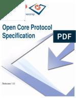 OCP IP OpenCoreProtocolSpecification 1.0
