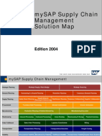 MySAP Supply Chain Management Solution Map