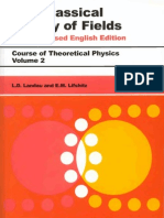 Landau and Lifshitz - Course of Theoretical Physics - Vol. 02 - The Classical Theory of Fields