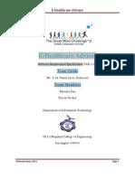 SRS Sample E-Healthcare Advisor1.0.1