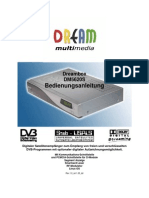 Manual for Dreambox DM5620-S/Triax 272-S