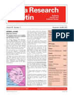 Africa Research Bulletin December 2012