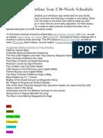 Year 2 AO Reading List 2013