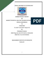 Market Potential Analysis Towards Internet Data Card