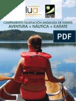 Campamento de Verano de la Federacion andaluza de Karate