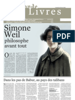 Le Monde Des Livres 27 Février 2009
