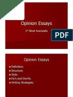 Opinion Essays1[1]