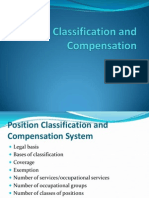 Position Classification and Compensation
