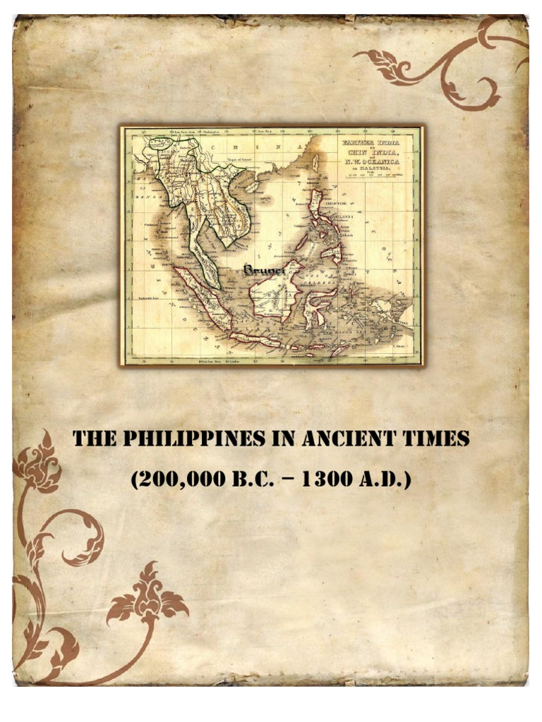 The Philippines In Ancient Timescx