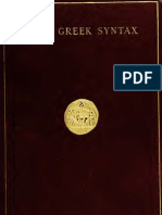 Bevier Brief Greek Syntax