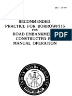 10-1961-Recommended Practice for Borrow Pits for Road Embankments Constructed by Manual Operation