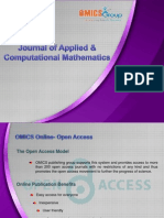 Journal of Applied & Computational Mathematics