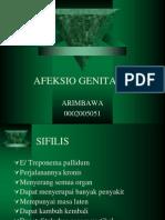 AFEKSIO GENITALIS-arim