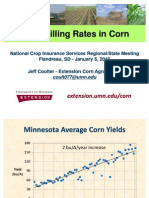 Grain Filling Rates in Corn 2010