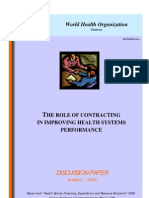 The Role of Contract Dp e 04 1
