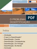 O Problema da Desertificação
