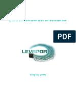 Levapor -Company Profile
