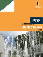 CRITERIOS JUDICIALES 2011