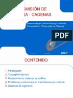 CAPACITACION CADENAS Y PIÑONES