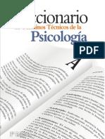 Cosacov, E. - Diccionario de Términos Técnicos de la Psicología