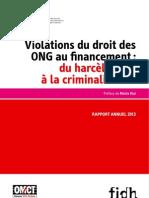 Obs 2013 Defenseurs Droits Humains Francais