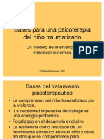 6 m.dantagnan. Bases Para La Psicoterapia de Nino Traumatizado