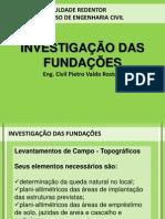 Aula 03 - Investigação das Fundações