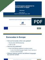 20110127 Eurocodes Egypt Work Moyes Summary.pdf