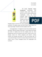 Bahan Pembersih Dan Sanitizer