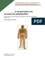 Sobrepeso en Personas Con Secuelas de Poliomielitis