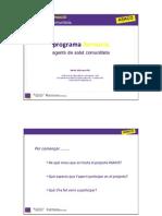 Programa de Formació Agents de Salut Comunitària