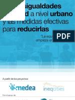 Las desigualdades en salud a nivel urbano  y las medidas efectivas para reducirlas