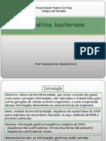6 Genética bacteriana