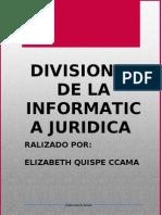 DIVISIONES DE LA INFORMATICA JURIDICA.doc