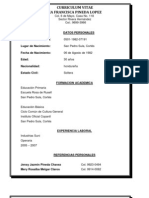 Curriculum Vitae Andrea Francisca Pineda Lopez