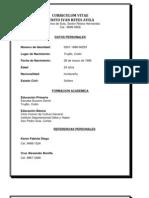 Curriculum Vitae Benito Ivan Reyes Avila