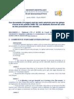 Documents Autorises