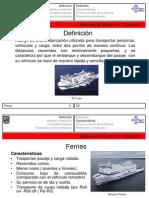 Ferrys. Máquinas de Elevación y Transporte
