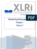 A9_Marketing Management_Project Part 1