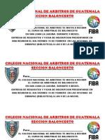 Colegio Nacional de Arbitros de Guatemala