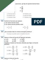 Fracciones - Numeros Racionales Ejercicios Resueltos