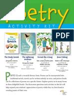 Poetry Activity Kit 2013